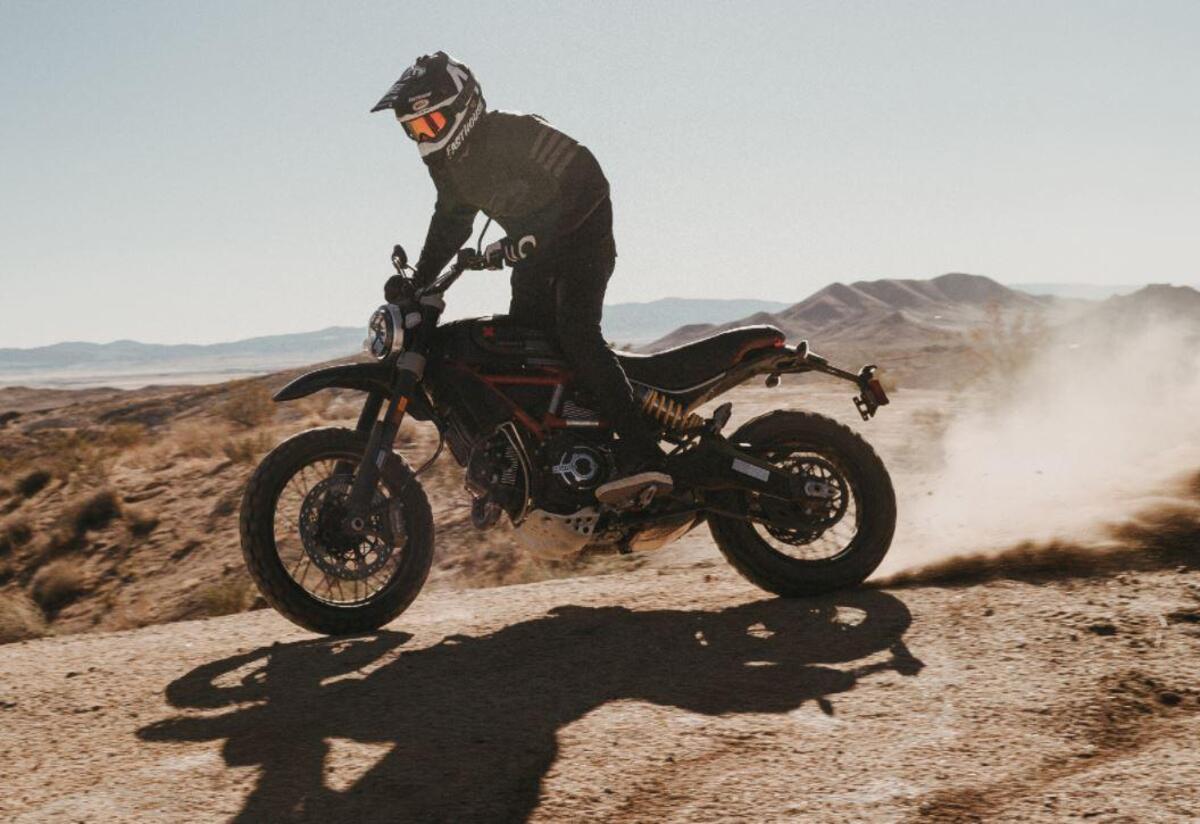 Racing Cafè: Ducati Scrambler Desert Sled by WalzWerk