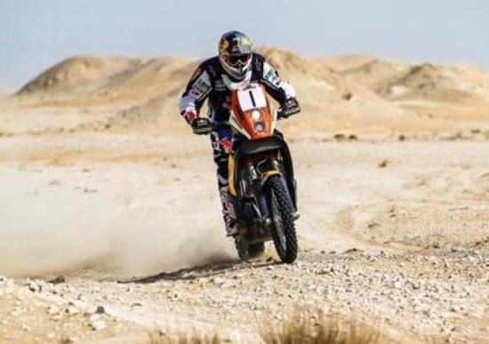 Mondiale CCR, Sealine Qatar. Vince Marc Coma (KTM)
