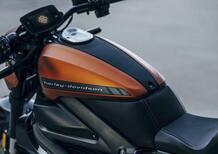Harley-Davidson Livewire 2021. Aumenta il peso, diminuisce la potenza