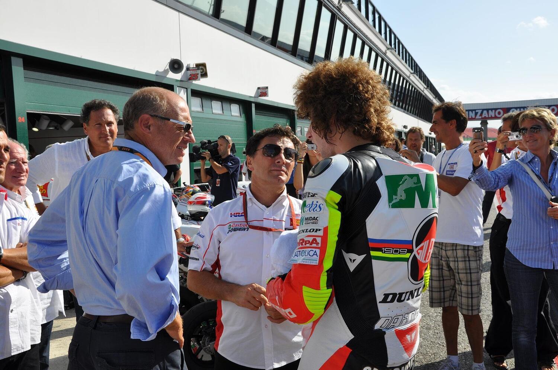 Fausto Gresini e il commosso tributo di Honda ad un mese dalla scomparsa