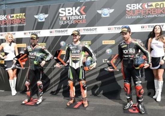 SBK Monza. A Sykes la Superpole del GP d'Italia