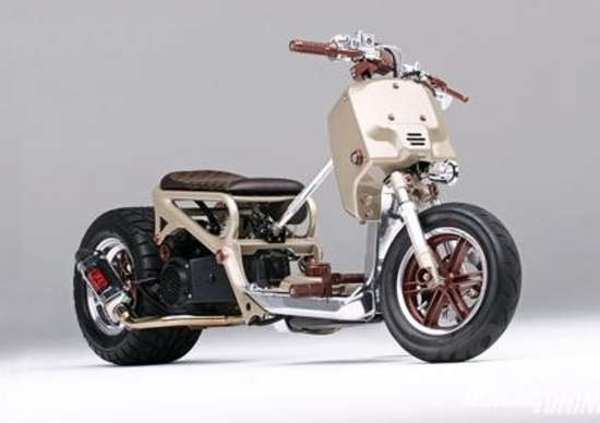 Rucksters-BTX Industries: Honda Zoomer LV Project