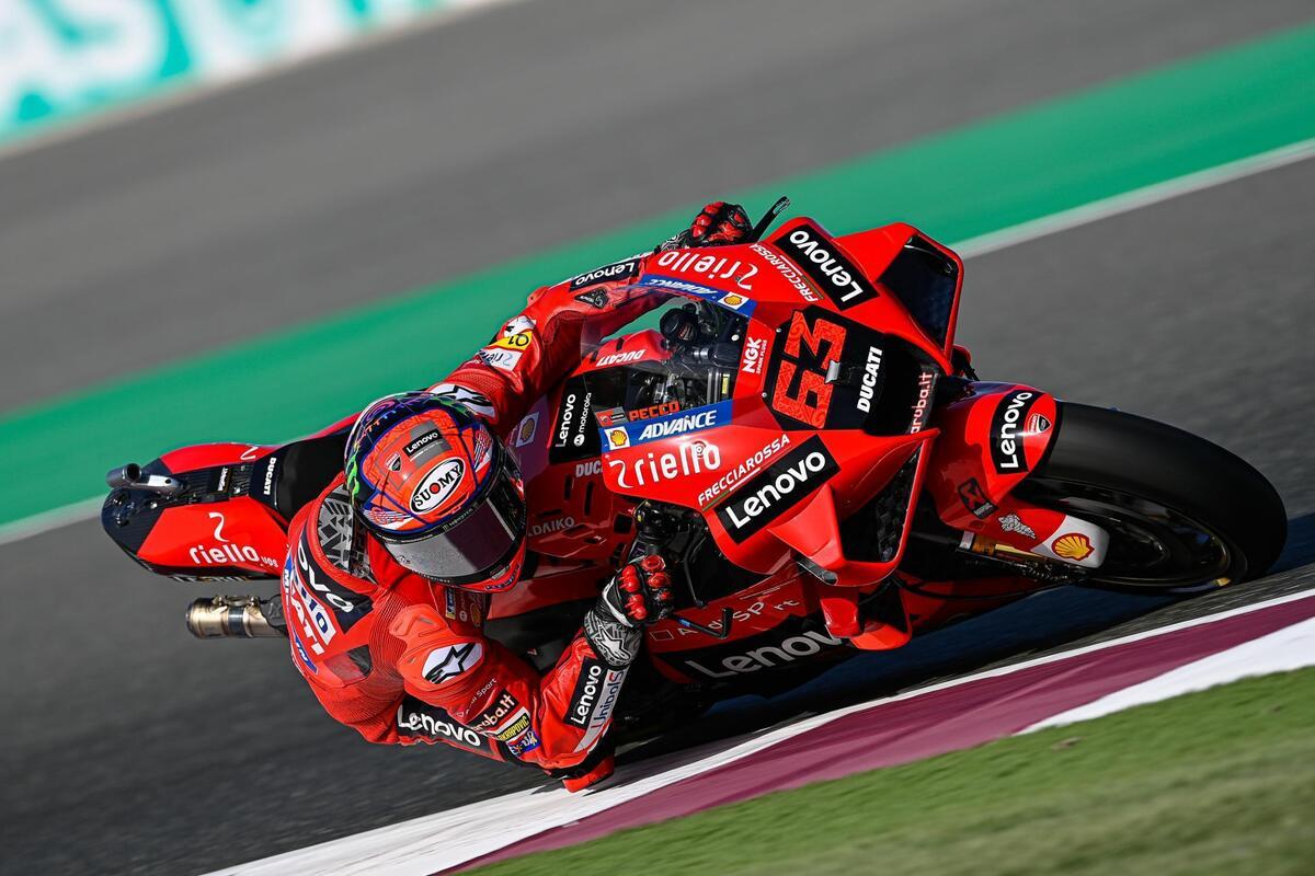 MotoGP 2021, Qatar GP / 1. Pecco Bagnaia takes the first pole of the season  - Ruetir