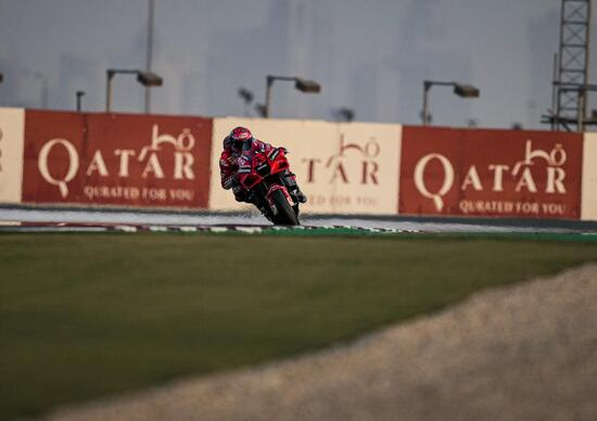 MotoGP 2021, Qatar GP / 1. The bookmakers are betting on Pecco Bagnaia, but  the wind of Losail raises the odds - Ruetir