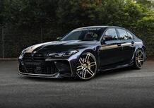 L'Estasi dell'Oro: ecco le nuove BMW M3 ed M4 da 620 CV firmate Manhart