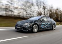 Mercedes EQS: anteprima su strada dell'ammiraglia elettrica da 770 Km [Prestazioni e Sensazioni]