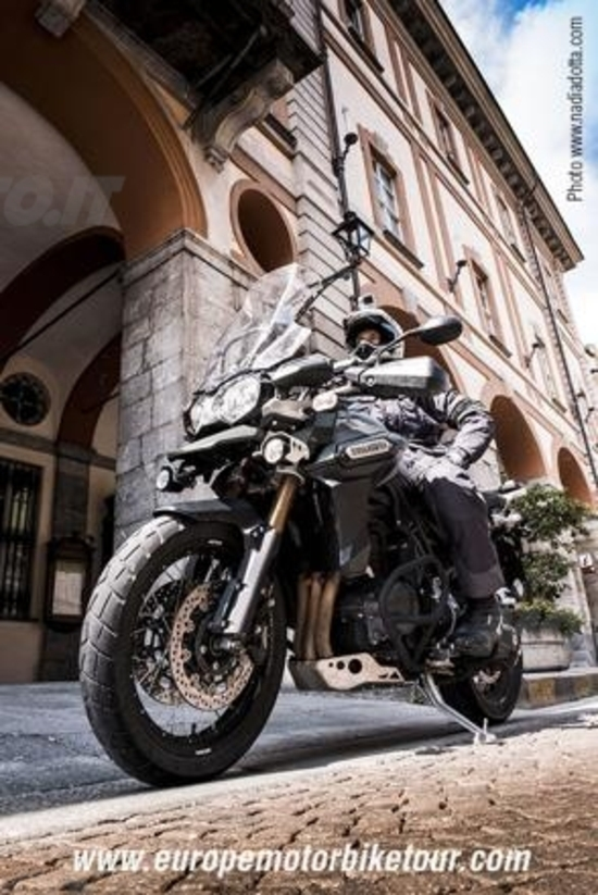 Al via Europe Motorbike Tour: Adnan partirà il 1° giugno