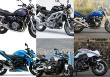 Moto, consigli per gli acquisti. Le maxi naked Suzuki