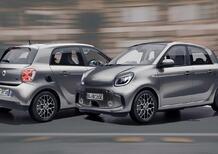 smart EQ racingrey | Elettrica limited edition in onore della Formula E