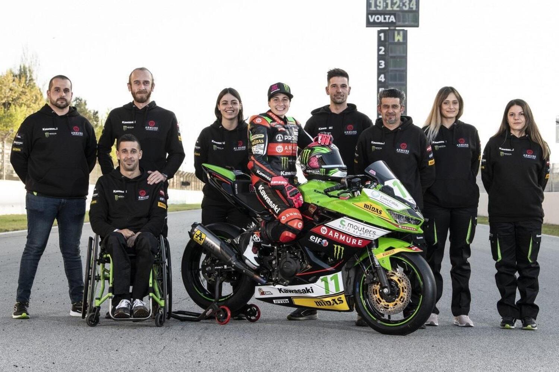 Superbike: Provec WorldSS300, un team al femminile