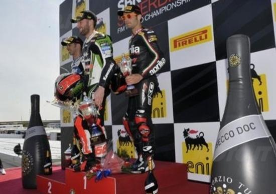 Superbike. Sykes vince Gara1 a Donington