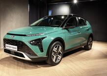 E' arrivato in Italia il nuovo piccolo SUV Hyundai, Bayon: costa meno di Kona [video]