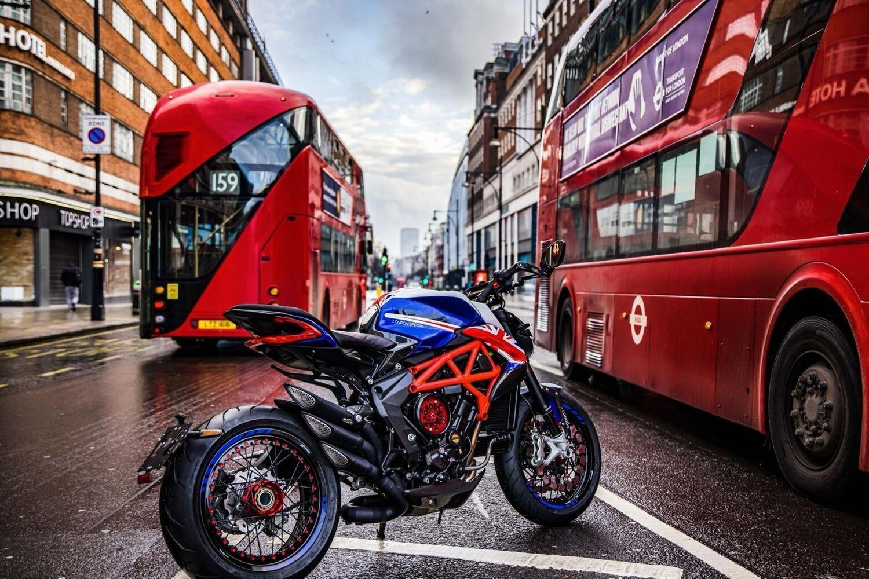 MV Agusta Dragster London. La Special per celebrare il nuovo store