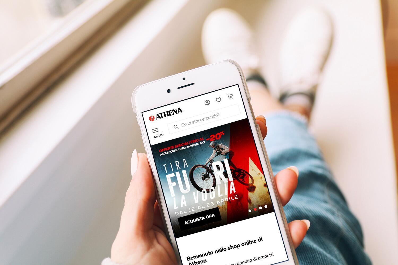 Athena: è online il nuovo e-commerce