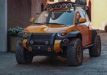 Stellantis meglio dei Transformers: con la Fiat 500 Scoiattolo offroad [spiazza anche il Suzukino?]