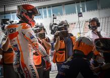 """MotoGP. GP del Portogallo a Portimao. Marc Marquez: """"Un'esplosione di emozioni"""""""