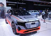 Visto a Shangai: Audi Concept SUV elettrico [Q4 e-tron Lunga?]