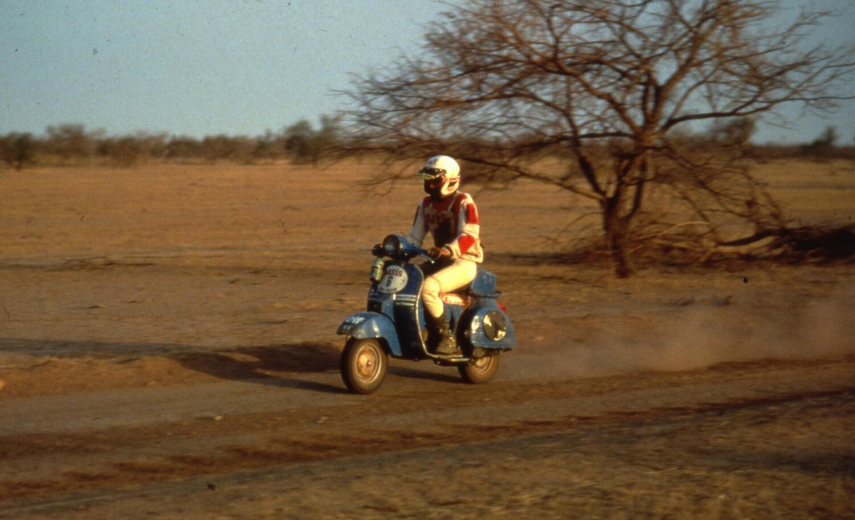 Anche la Paris-Dakar e i raid hanno fatto la storia della Vespa