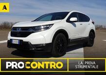 Honda CR-V Hybrid, PRO e CONTRO. La prova strumentale [Video]