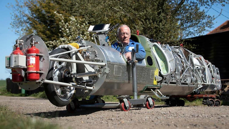 Guy Martin a caccia di record su una moto da 650 km/h?