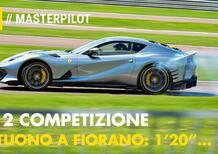 Ferrari 812 COMPETIZIONE | Un giro A CANNONE a Fiorano con De Simone [VIDEO]