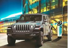 Jeep Wrangler 4xe ibrida, i prezzi: si parte da 69.550 euro