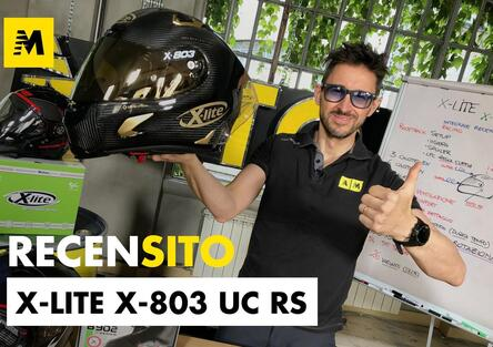 X-Lite X-803 UC RS. Recensito casco racing-stradale ultra carbon