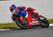 Superbike: Haslam precede Bautista nell'ultimo test di Aragon