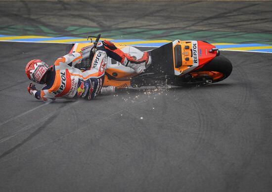 MotoGP 2021. French GP. Marc Marquez: I made a mistake - Ruetir