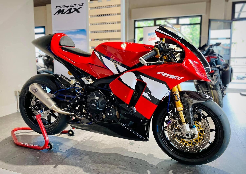 La Yamaha R9 esiste già ed è Made in Venezia