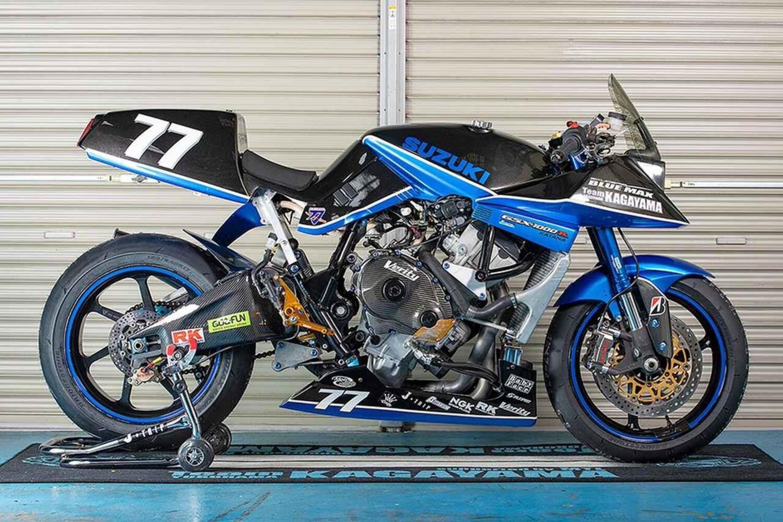 Kagayama Suzuki Katana 1000R: special racing per la formula TOT [GALLERY]