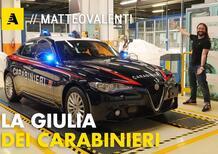 I segreti della nuova Alfa Romeo Giulia dei Carabinieri [Video]