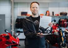 La Ducati Multistrada V4 numero 5.000 è stata comperata in Germania