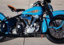 Harley-Davidson Knucklehead 38EL. Battuta all'asta per 154.000 dollari