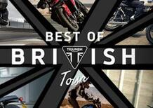 Triumph Sicilia inaugura a Messina con i test ride di Best of British Tour 2021