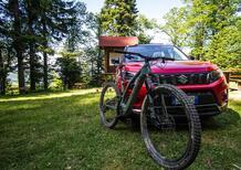Con Suzuki Vitara ibrida alle World E-Bike Series, Eccoci al campo di gara [video]