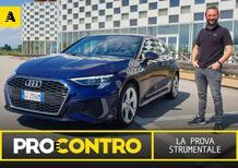 Audi A3 metano, PRO e CONTRO | La pagella e tutti i numeri della prova strumentale