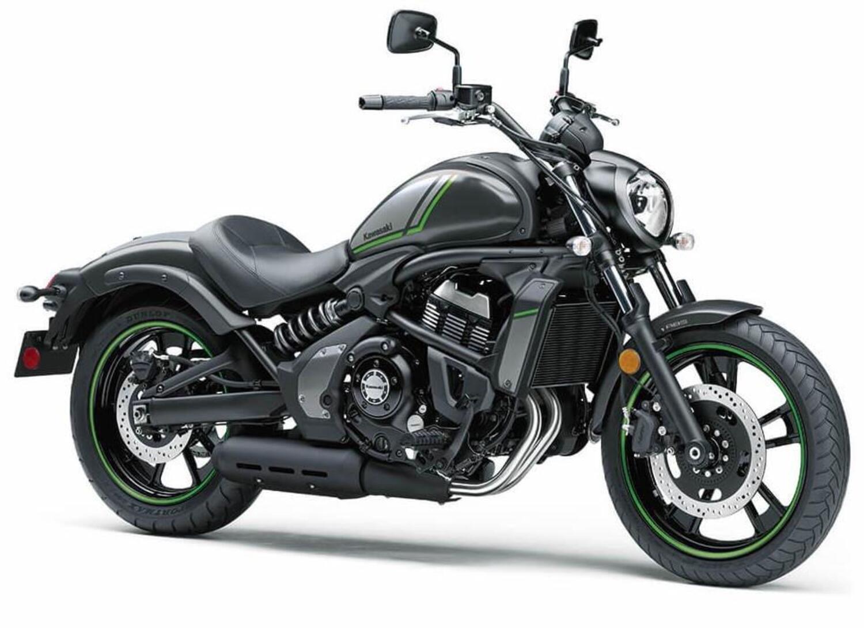 Kawasaki, nuove colorazioni 2022 (negli USA) per Vulcan S e Ninja 650