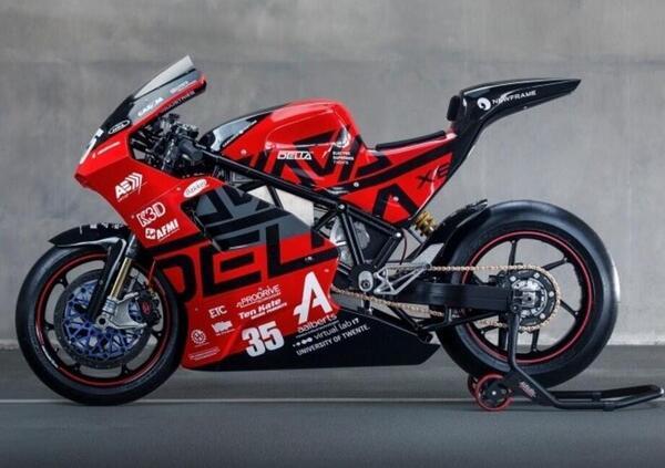 Delta-XE. Supersportiva elettrica