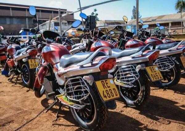 Ruanda verso la conversione elettrica delle due ruote