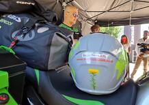 Manca poco alla partenza del giro del mondo con la Kawasaki Versys X-300 Adventure