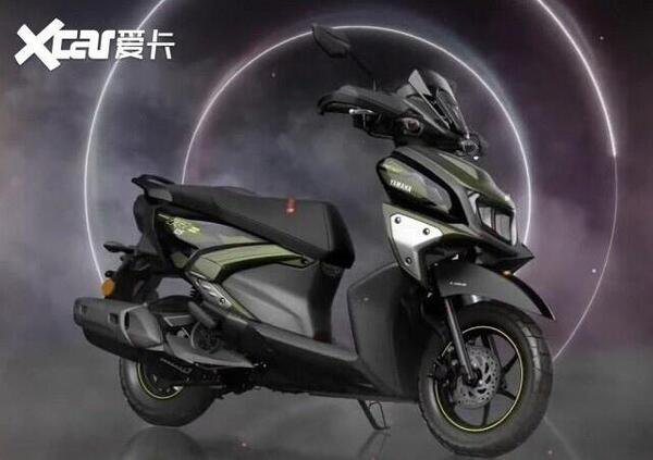 Presentato in India il nuovo scooter ibrido Yamaha RayZR 125 Hybrid