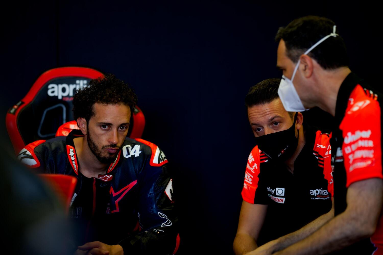 MotoGP 2021. Andrea Dovizioso e Aprilia Racing: positivi i nuovi test a Misano
