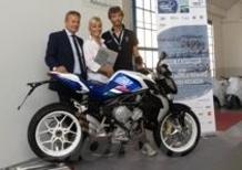 Una MV Agusta Brutale 675 edizione speciale per celebrare i Campionati di Canottaggio