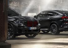 BMW X5, X6 e X7: arrivano le edizioni Black Vermilion e Frozen Black Metallic