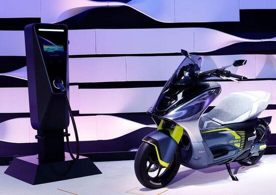 Yamaha Motor accelerates the 2050 environmental plan. With new vehicles