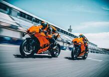 KTM RC8C 2022, supersportiva solo pista. Prezzo e foto