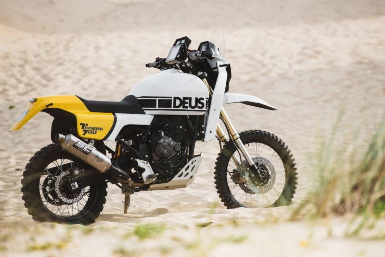 Deus Ténéré (Yamaha 700). Un omaggio agli Anni 80 e alla Paris Dakar