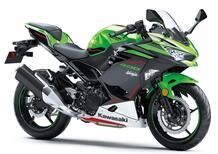 Kawasaki Ninja 400 e Z400 m.y. 2022. Presentate in Giappone