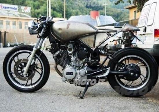 Schema Elettrico Yamaha Virago : Le strane di moto yamaha virago café racer news moto